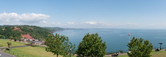 The Downs, Babbacombe: View from our balconies
