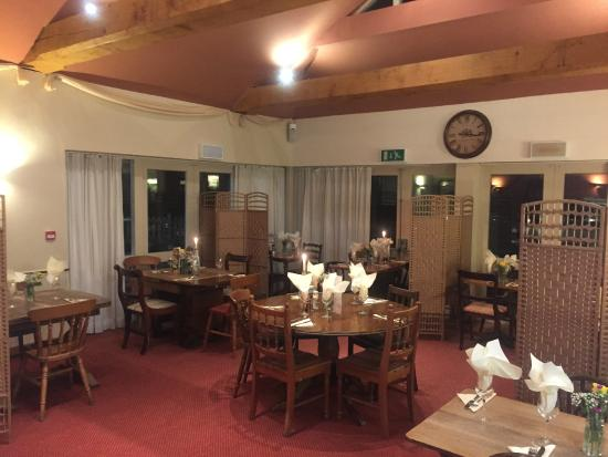 Wittersham, UK: Restaurant Dining