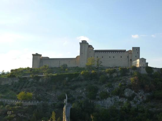 Spoleto, Italien: Rocca Albobornoziana!
