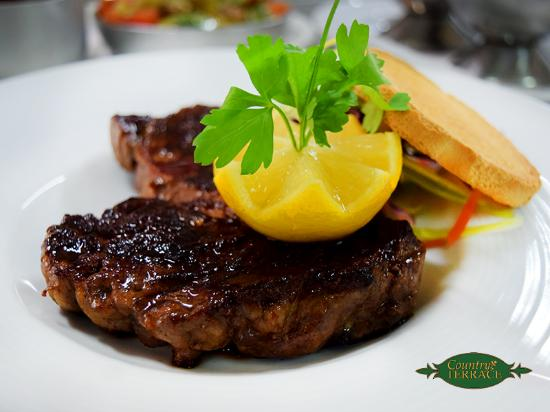 Country Terrace: Rib Eye Steak