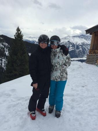 Pension Margarete Hotel Garni: Skiing fun and fantastic scenery