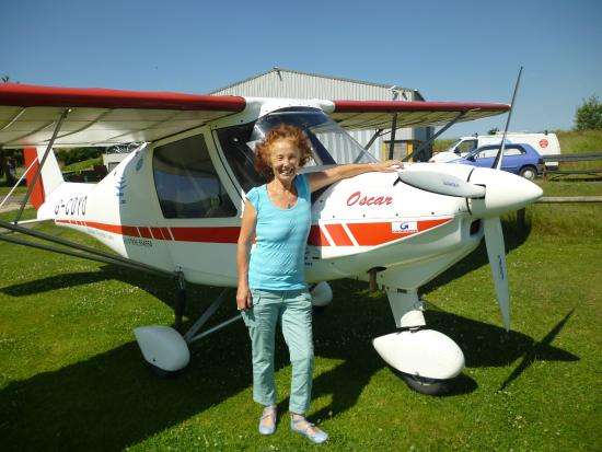 Calne Bed and Breakfast: Nearby light Aircraft trips!