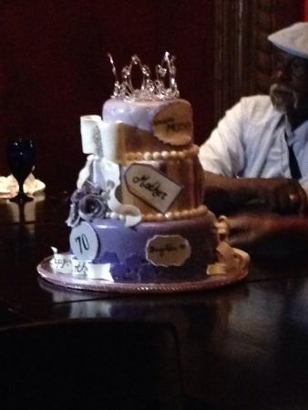 Texas de Brazil: Birthday surprise