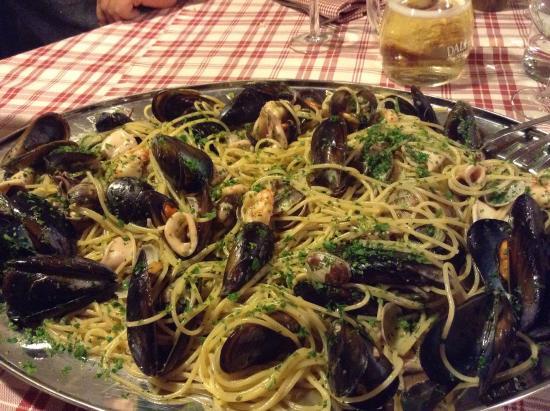 Spaghetti ai frutti di mare picture of nuovo ranch - Nuovo ranch bagno a ripoli ...