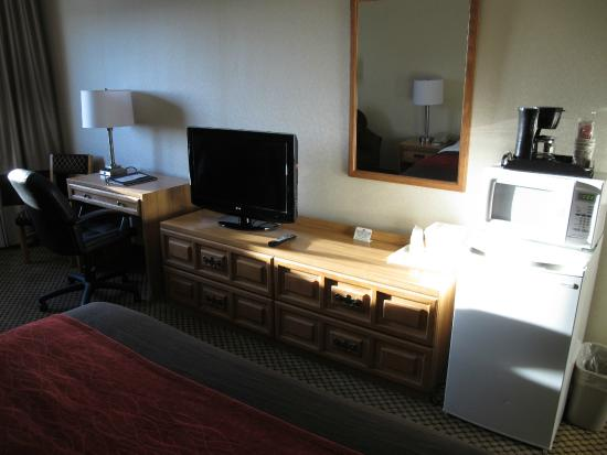 Comfort Inn Moreno Valley near March Air Reserve Base: mobilier clair et recent
