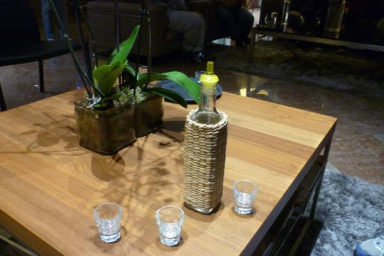 Alexakis Hotel: Welcome drink