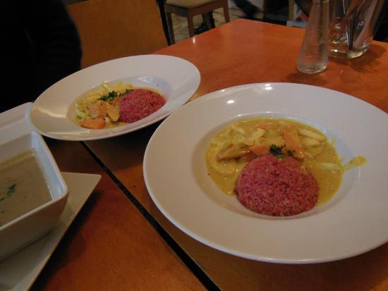 Restaurant Wrenkh : 野菜のカレー