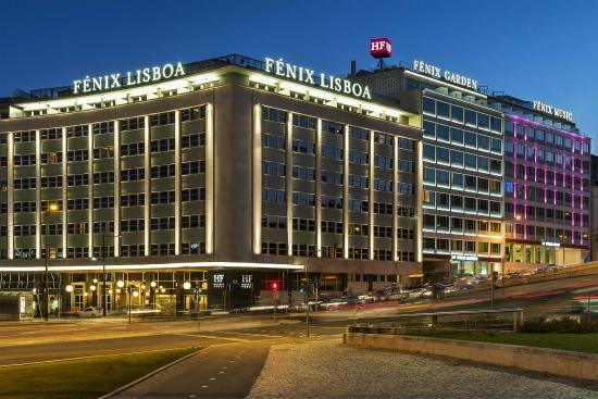 Hf fenix music hotel maintenant 152 au lieu de for Hotels lisbonne
