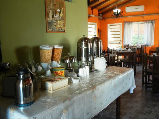 Morada La Silvestre Cabañas: Desayunador y comidas caseras: todos los dias