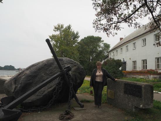 Мемориальный камень в память о героях штурма Пиллау