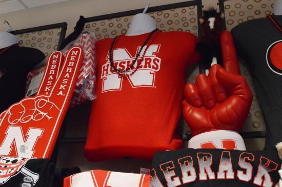 The Lincoln Marriott Cornhusker Hotel: Husker gear available in our Gift Shop