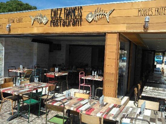 Restaurant La Londe Les Maures Chez Francis