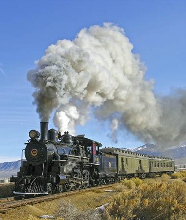 Locomotive 40 On The Original Nn Main Line With Her Original Consist Picture Of Nevada Northern Railway Museum Ely Tripadvisor