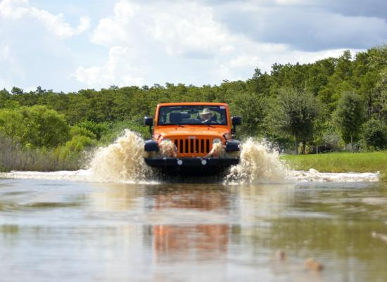 Orange Jeep Tours