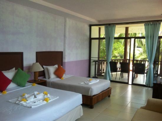 Koh Ngai Resort : Номер делюкс