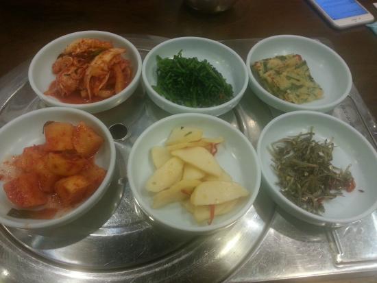 Hyang To Gol Korean Restaurant : Makanan kecil