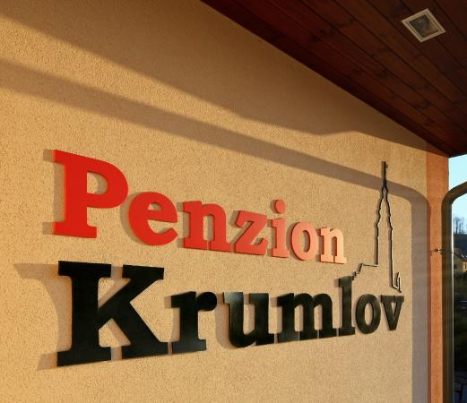 Penzion Krumlov: The name of the hotel