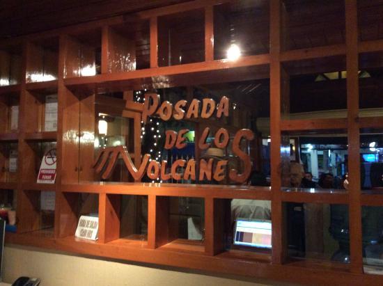 Posada de los Volcanes: Welcome