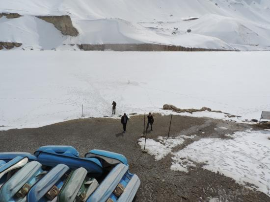 Band-e-Amir National Park: In front of Ziyarat
