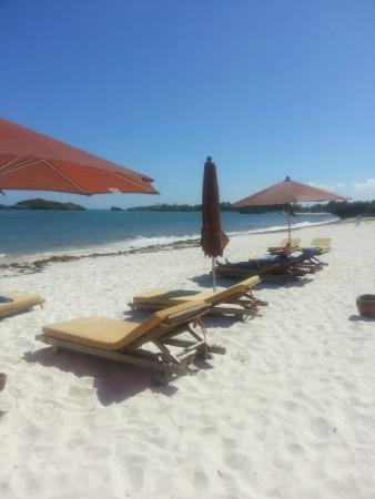 Seven Islands Resort: spiggia della struttura