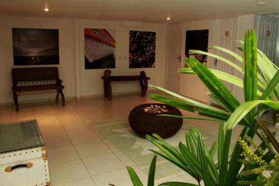 Guest House Marilay Buzios: Área externa dos apartamentos standard