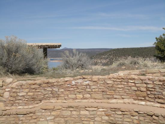 The Anasazi Heritage Center: Top of the mesa at Anasazi Heritage Center Museum