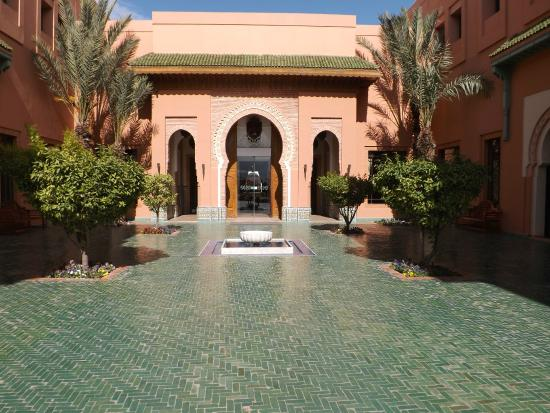 entrance picture of hotel les jardins de l 39 agdal marrakech tripadvisor. Black Bedroom Furniture Sets. Home Design Ideas