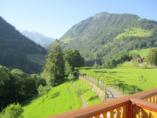 Gasthaus und Chalet Paxmontana: View from our room