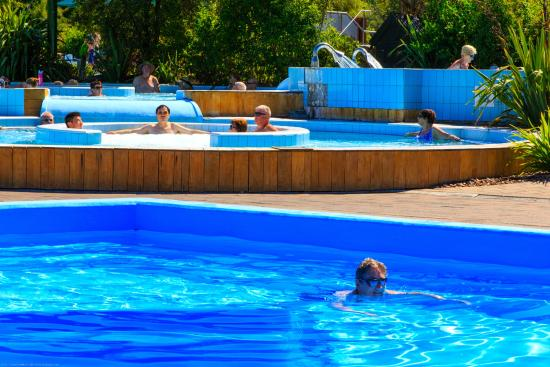 Alpine Springs Motel: Pools at Hanmer Springs