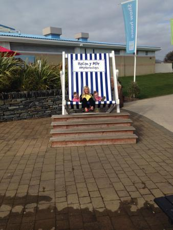 Hafan y Mor Holiday Park - Haven: The big deck chair
