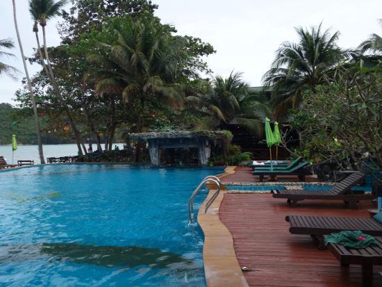 Koh Phangan Dreamland Resort: La piscine
