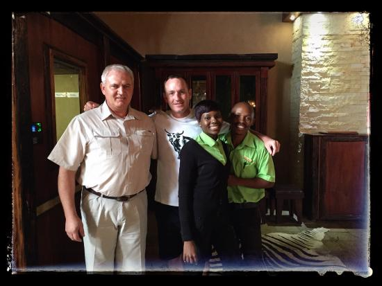 Oryx Trail Game Lodge & Safaris: Amazing, friendly service from all the staff. Thank you for making our stay enjoyable.