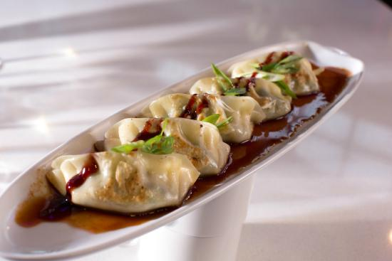 Executive Plaza Hotel Coquitlam: Shrimp gyoza