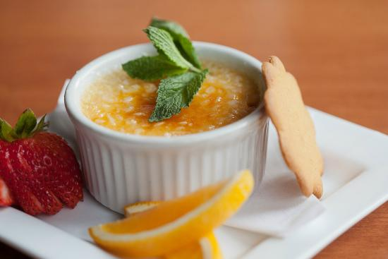 White Cap Grille: Creme Brulee