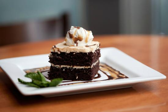White Cap Grille: Chocolate Peanut Butter Cake