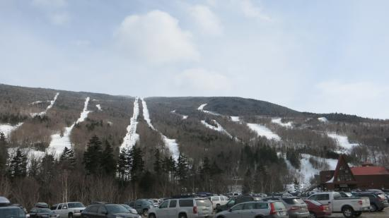 Wildcat Mountain: View from the lot