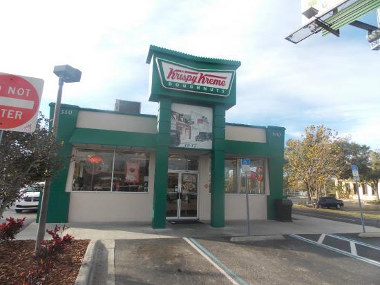 Interior Picture Of Krispy Kreme Doughnuts Kissimmee Tripadvisor