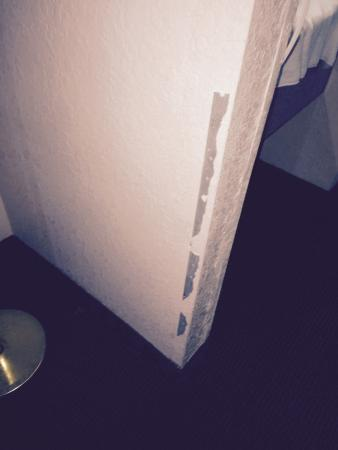 Quality Inn Sarasota/Siesta Key: falling plaster