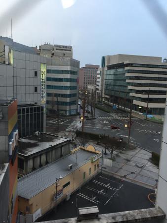 Kumamoto Tokyu REI Hotel: 窓の外