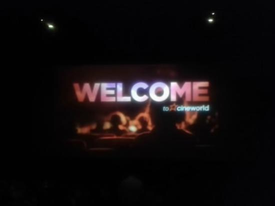 Cineworld Llandudno: Welcome To Cineworld, Llandudno Junction