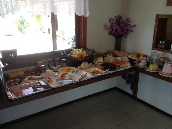 Estalagem Mandeville: café da manhã perfeito