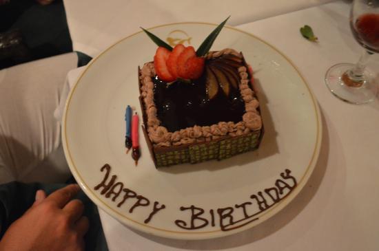 Magnificent Tiny Birthday Cake Picture Of Grand Sirenis Riviera Maya Resort Birthday Cards Printable Opercafe Filternl