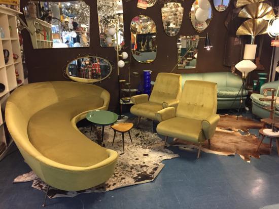 Mobili Anni 50 Usato : Da visitare divani poltrone lampade vintage di design anni