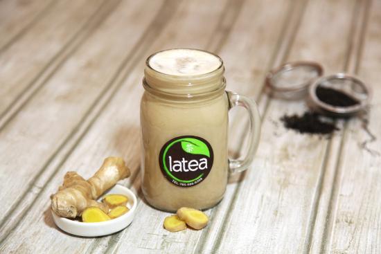 Ginger Milk Tea: fotografía de Latea Bubble Tea Lounge, West ...