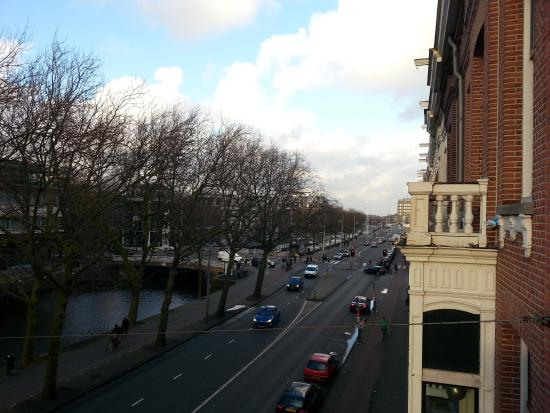 Ibis Styles Amsterdam City: view from balcony