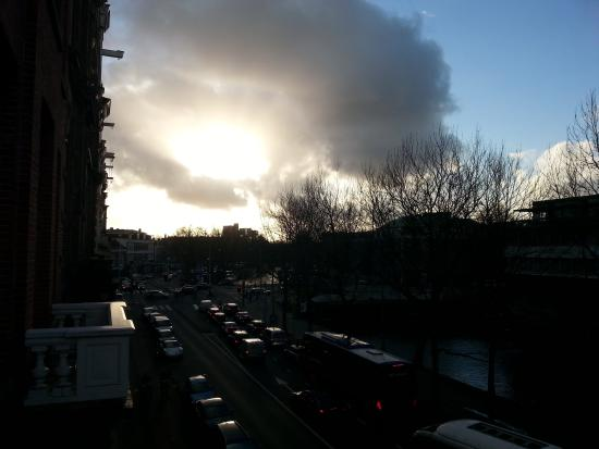 Ibis Styles Amsterdam City : view from balcony