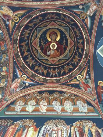 Saint George New Church (Biserica Sfantul Gheorghe Nou): Frescos exteriores