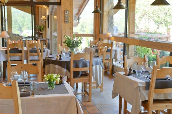 Hotel le Morillon : Restaurant