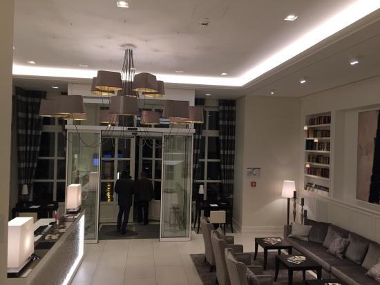 Parkhotel Meissen: Вход