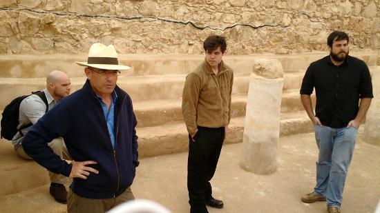 Danny the Digger, at Masada